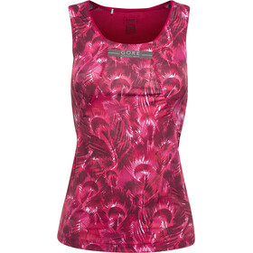 GORE RUNNING WEAR AIR PRINT Tri Top Singlet Dames, jazzy pink